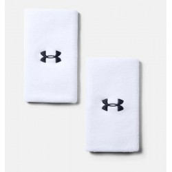 Under Armour Performance Wristbands x 2 - 1218006-100