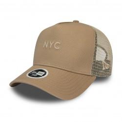 NEW ERA NYC SEASONAL TRUCKER NE PNK CAP 11941651