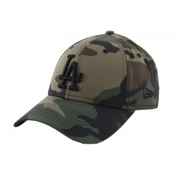 New Era Los Angeles Dodgers Essential 9Forty 12040614 Camo Khaki