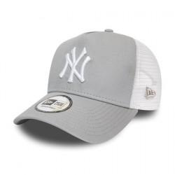 New York Yankees Grey A-Frame Trucker 12285469