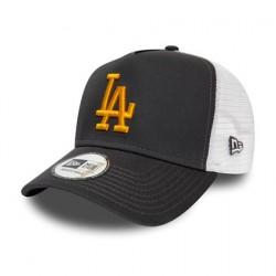 Los Angeles Dodgers Grey A-Frame Trucker 12285477