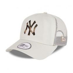 New Era NEW YORK YANKEES CITY CAMO STONE A-FRAME TRUCKER CAP 60112692