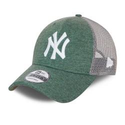 New Era New York Yankees Home Field Green 9FORTY Trucker Cap 60137413