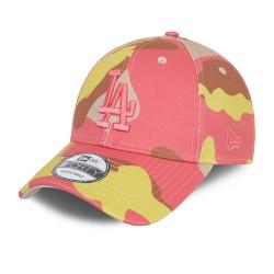 New Era LA Dodgers Camo Pack Pink 9FORTY Cap 60137705