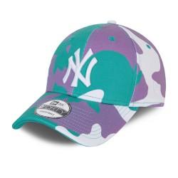 New Era New York Yankees Camo Pack Teal 9FORTY Cap 60137715