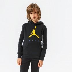 Jordan Boys Jumpman by Nike Pullover Hoodie (Black) - 95A675-023
