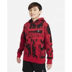 Nike Jordan Big Kids' (Boys') Pullover Hoodie 95A712-R78