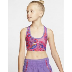 Nike Pro Classic Girls' Reversible Printed Sports Bra BV2665-639