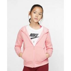 Nike Sportswear Girls' Full-Zip Hoodie BV2712-697