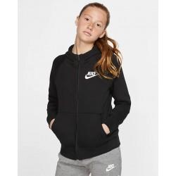 Nike Sportswear Girls' Full-Zip Hoodie BV2712-010