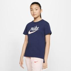 Nike Sportswear Girls' Tee Script Futura (CV2199-492)