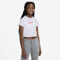 Nike Crop Top Futura Παιδικό T-Shirt DA6925-530