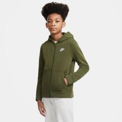 Nike Big Kids' French Terry Full-Zip Hoodie (DD1698-326)