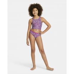 Nike Big Kids' (Girls') Spiderback Bikini Set NESSA746