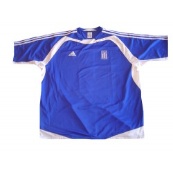 Greece HOME Jersey-110495-BLUE (Authentic 2004 Euro Winners Home Jersey )