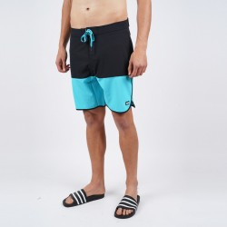 Body Action Men's Board Shorts 033005 ΤURQUΟΙSΕ