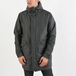 BODY ACTION HEAVY WEIGHT PARKA (073823-GRANITE)