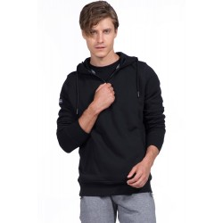Body Action Hooded Sweat Jacket - Ανδρική Ζακέτα 073928 - Black