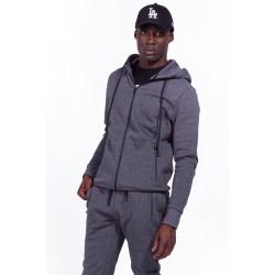 Body Action Hooded Sweat Jacket - Ανδρική Ζακέτα 073928 - CΗΑRCΟΑL