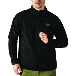 GSA HEAT SOFTSHELL JACKET 1718122 JET BLACK