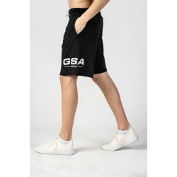 GSA FRENCH TERRY GEAR SHORTS 17-1218-01 JET BLACK