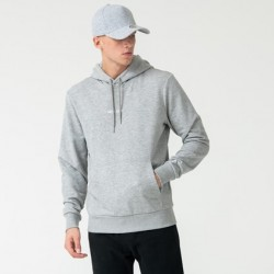 NEW ERA ESSENTIAL GREY PULLOVER HOODIE 11860050