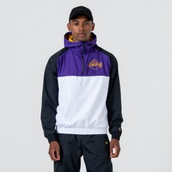 NEW ERA LOS ANGELES LAKERS  WINDBREAKER JACKET 12033458
