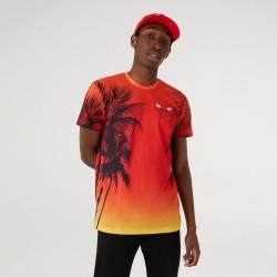 New Era Chicago Bulls Summer City Print T-Shirt 12720095