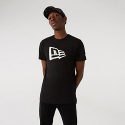 New Era New Era Infill Flag Black T-Shirt 12720118