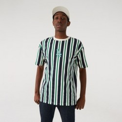 New Era LA Dodgers Oversized Stripe T-Shirt 12720146