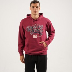 Russell Athletic ALABAMA STATE - PULL OVER HOODY A0-014-2-469 Μπορντό
