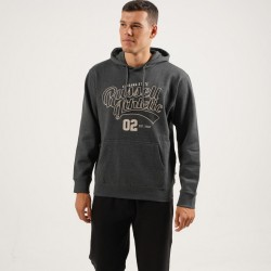Russell Athletic ALABAMA STATE - PULL OVER HOODY A0-014-2-098 Ανθρακί