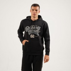Russell Athletic ALABAMA STATE - PULL OVER HOODY A0-014-2-099 Μαύρο