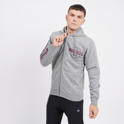 Russell Athletic 02 Ανδρική Ζακέτα με Κουκούλα  A0017-2-090 COLLEGIATE GREY MARL