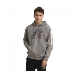 RUSSELL ATHLETIC PULLOVER HOODY A0078-2-090 COLLEGIATE GREY MARL