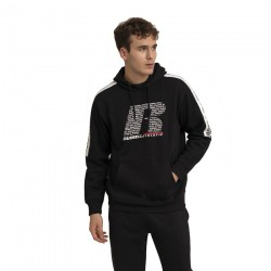 RUSSELL ATHLETIC PULLOVER HOODY A0078-2-099 ΜΑΥΡΟ