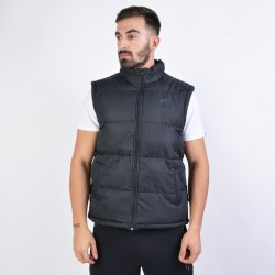 Russell Athletic Men's Padded Gilet Concealed Vest A9-703-2-099 ΜΑΥΡ