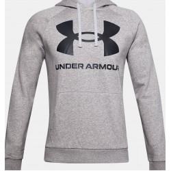 UA Rival Fleece Big Logo Hoodie 1357093-011