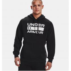 Under Armour Rival Fleece Signature Box Hoodie 1366363-001