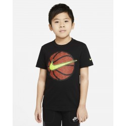 Nike T-Shirt Faux Bsketball Swoosh TEE 86H834-023