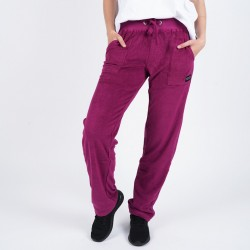 Body Action Women's Basic Terry Pants 021004 L.ΡURΡLΕ