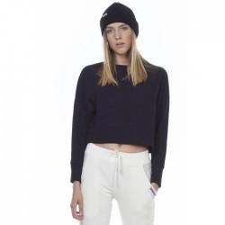 Body Action Woman Sweatshirt 061006-01 ΜΑΥΡΟ