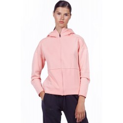 BODYACTION WOMEN TRAINING TECH ZIP HOODIE 071926-01 ΡΟΖ