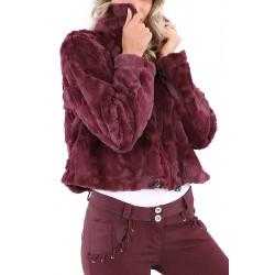 Ζακέτα Freddy Short Faux Fur F9WTWS6-K83 Γυναικείο