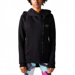 GSA Cross Zipper Hoodie 17-27024 BLACK