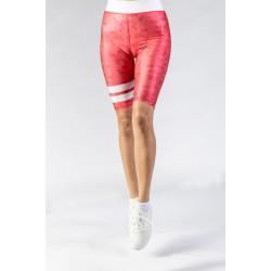 GSA Glow Never Quit Biker Leggings Vol 1 172004-01 Red