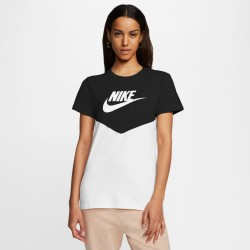 Nike Wmns Heritage Top ss Tee BQ9555-011