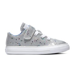 Chuck Taylor All Star Galaxy Glimmer Hook and Loop Low Top 765111C