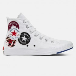 Converse Chuck Taylor All Star Multi Logo Unisex Shoes (166735C)